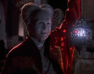 "Close, but no cigar: Gary Oldman as Count Dracula in ""Bram Stoker's Dracula"", 1992 film, directed by Francis Ford Coppola"