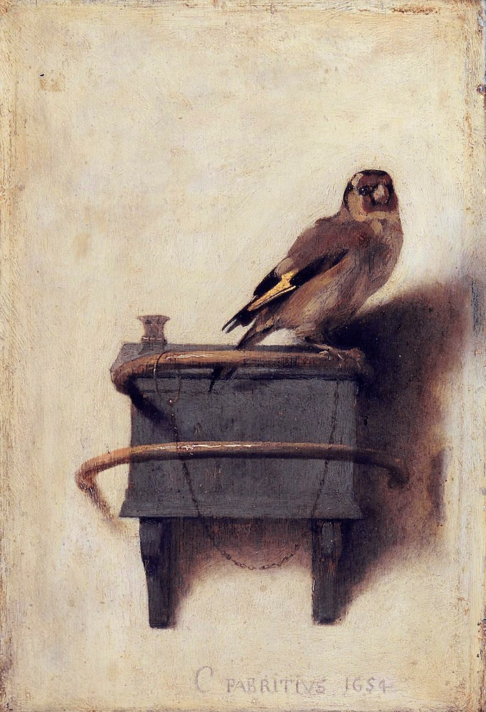 Chained to the past like a goldfinch to a perch (2/6)