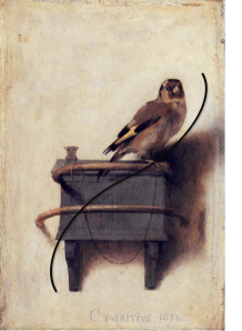 "The line of beauty in ""The Goldfinch""."