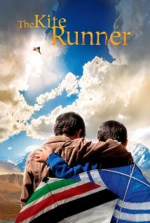 Poster for the 2007 film of The Kite Runner, by Khaled Hosseini