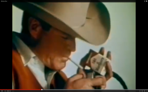 The Marlboro Man - long banned from TV, long dead