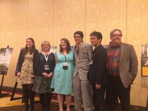 Ben Winters with Philip K Dick Award nominees