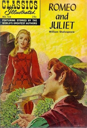 Romeo and Juliet -Juliet looking very 60s Hollywood