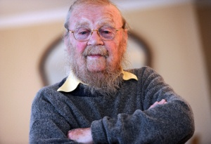 Author and writer Farley  Mowat in his home in Port Hope  on May  07 2012. (Photo: VINCE TALOTTA/TORONTO STAR)