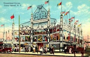 "Although the first ""freak show"" at Coney Island opened in 1880, the golden age of the village's side shows began in 1904 when Samuel W. Gumpertz opened Lilliputia, an entire miniature city scaled for its dwarf and midget inhabitants. Lilliputia became such a popular tourist attraction at Dreamland, Gumpertz spend many years afterwards finding and promoting human oddities. After Dreamland burned in 1911, he opened Dreamland Circus Sideshow. Other side shows soon opened, including The World Circus Freak Show, The Steeplechase Circus Big Show, Hubert's Museum, The Strand Museum, and Wonderland Circus Side Show. Human oddities who worked in circuses and other traveling shows enjoyed the relative stability and permanence of Coney Island."