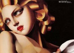 Painting by De Lempicka