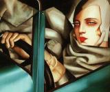 Painting by De Lempicka