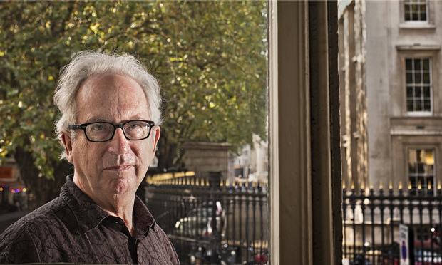 Peter Carey, photographed in London, 2014. Photograph: Sarah Lee