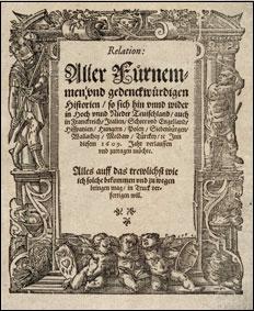 Relation aller Fürnemmen und gedenckwürdigen Historien