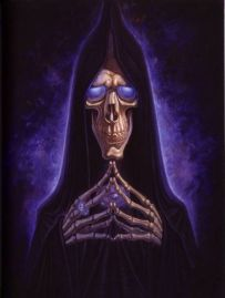 Death in the Discworld by Paul Kidby (Official Ilustrator)