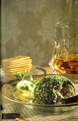 "Laura Lippman's ""Aunt Effie's Salmon Ball"" requires liquid smoke andis served with a saide order of bullets."