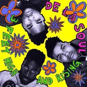 De La Soul, 3 Feet High and Rising album cover