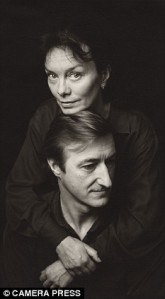 "Julian Barnes and Pat Kavanagh: ""You put together two people who have not been put together before . . . Sometimes it works, and something new is made, and the world is changed . . . I was thirty-two when we met, sixty-two when she died. The heart of my life; the life of my heart."" (From Levels of Life, by Julian Barnes)"