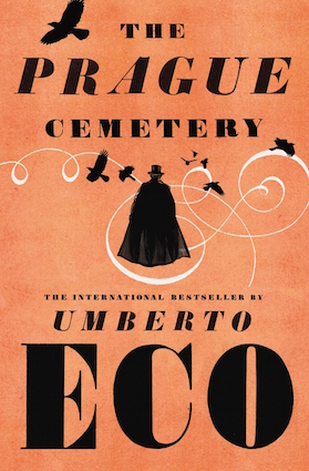 The Prague Cemetery, by Umberto Eco