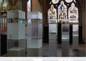 Another Hour, exhibition by Edmund de Waal, Southwark Cathedral, 2014