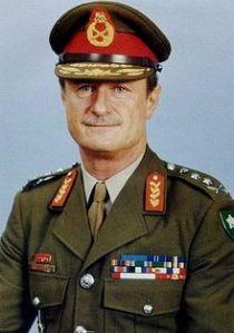 Much-decorated General Jannie Geldenhuys, a General's General