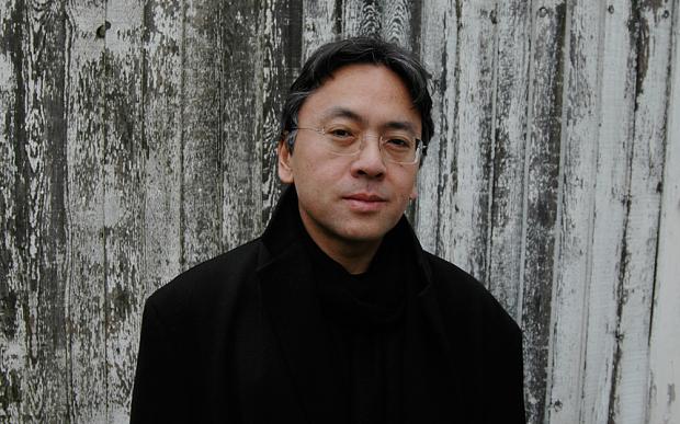 Kazuo Ishiguro at the Hay [Book] Festival in 2015 (Kazuo Ishiguro Photo: Charles Hopkinson/Telegraph)