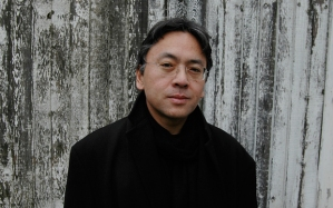 Kazuo Ishiguro at the Hay [Book] Festival in 2015 (Kazuo Ishiguro Photo: Charles Hopkinson/Telegraph)