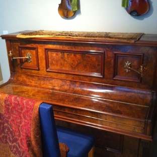 My Geissler piano, perfectly restored and with good tone after almost 90 years.