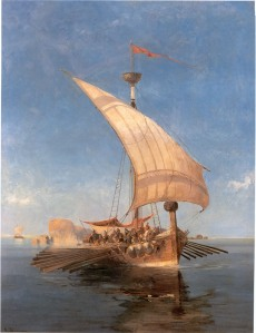 The Argo, by Konstantinos Volanakis (1837–1907).