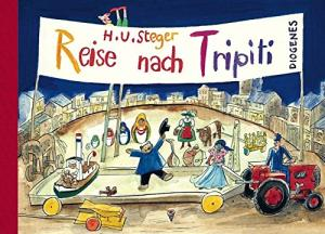"German author H.U. Steger wrote the strange ""Reise Nach Tripiti"" (in Afrikaans, ""Die Reis Na Tripiti""; English: ""The Journey to Tripiti"") about the long journey of a group of abandoned toys. The illustrations never ceased to fascinate me."