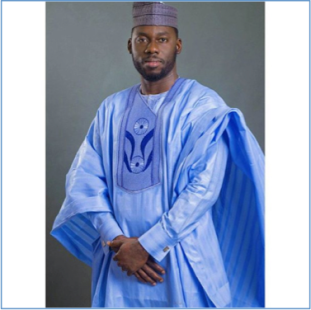 Man in formal agbada.