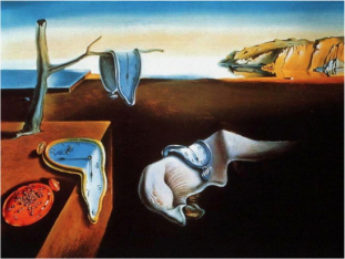 """""""The Persistence of Memory"""", by Salvador Dalí, 1931."""