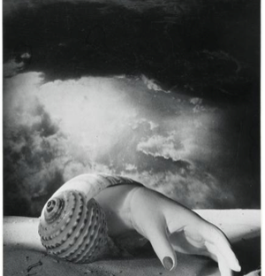 """Sans Titre (Main-Coquillage)"", by Dora Maar, 1934."