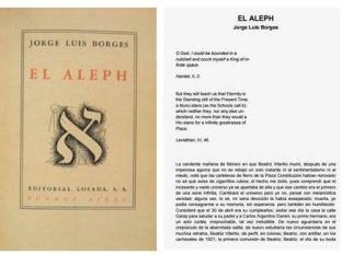 El Aleph, by Jose Luis Borges