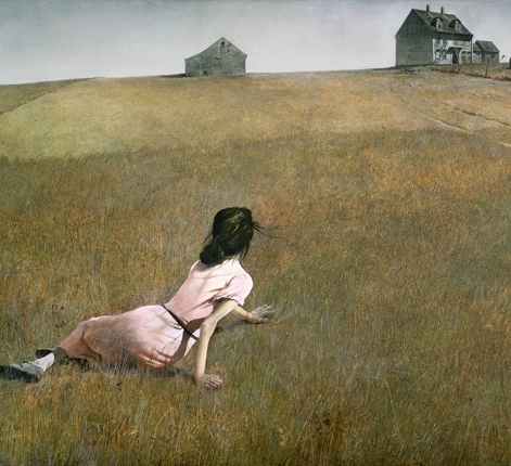 Andrew Wyeth. Christina's World. 1948. The Museum of Modern Art, New York.