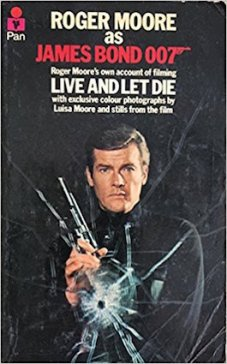 Roger Moore as James Bond, by Roger Moore