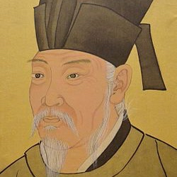 Portrait of Bai Juyi by Chen Hongshou.