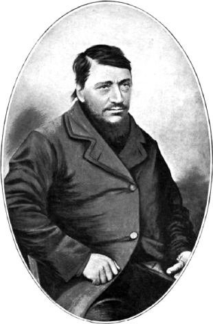 Paul Kruger, photographed as Commandant-General of the South African Republic, c. 1865.