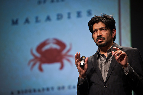 Dr. Siddhartha Mukherjee - Since 2009, he is an Assistant Professor of Medicine at the Columbia University Medical Center in New York City. He is young (47), handsome, skilled, clever and a genius writer.