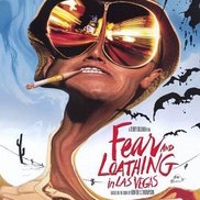 "Film poster of ""Fear and Loathing in Las Vegas"""