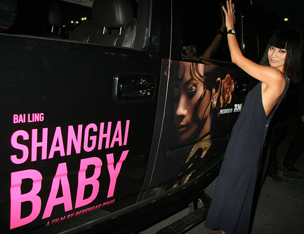 "Actress Bai Ling (who plays ""CoCo"") during 2007 Cannes Film Festival - ""Shanghai Baby"" - Photoshoot in Cannes."