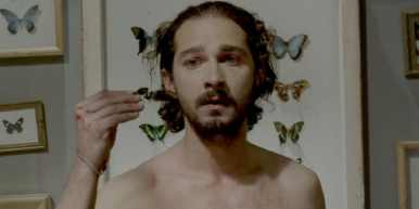 Still of Shia LaBeouf in the film Nymphomaniac.