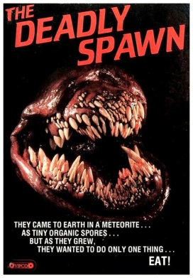 """The Deadly Spawn"", 1993. Alien creatures invade a small town and four teenagers, along with a young boy, attempt to escape from them."