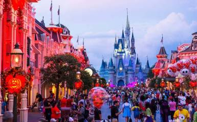 Disney World in 2017. (Photo by David Roark)