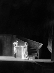 Jack Carter and Edna Thomas in the Federal Theatre Project production that came to be known as the Voodoo Macbeth (1936)