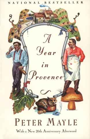A Year in Provence, by Peter Mayle (Memoir, first published Jun 04, 1991; paperback publisher: Vintage; reprint edition June 4 1991, 224 pages.)