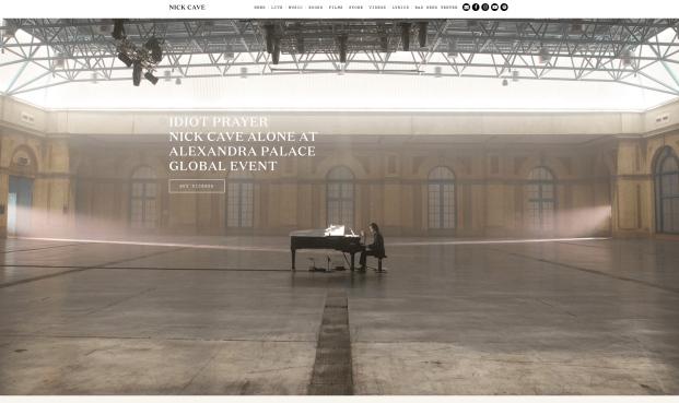 Nick Cave_Homepage