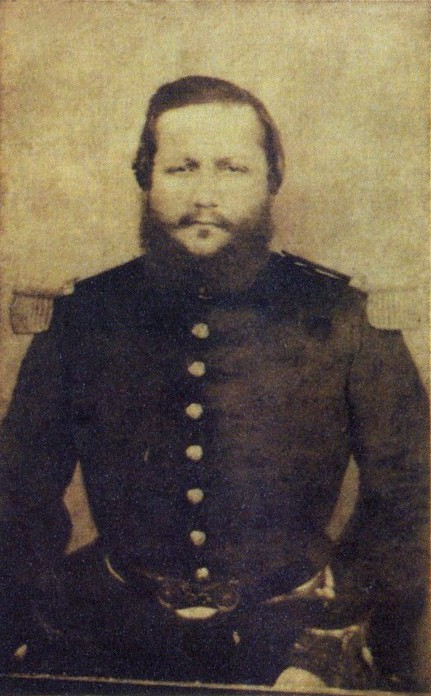 The last known picture of Solano López, taken by photographer Domenico Parodi, c. 1870, the year he died..
